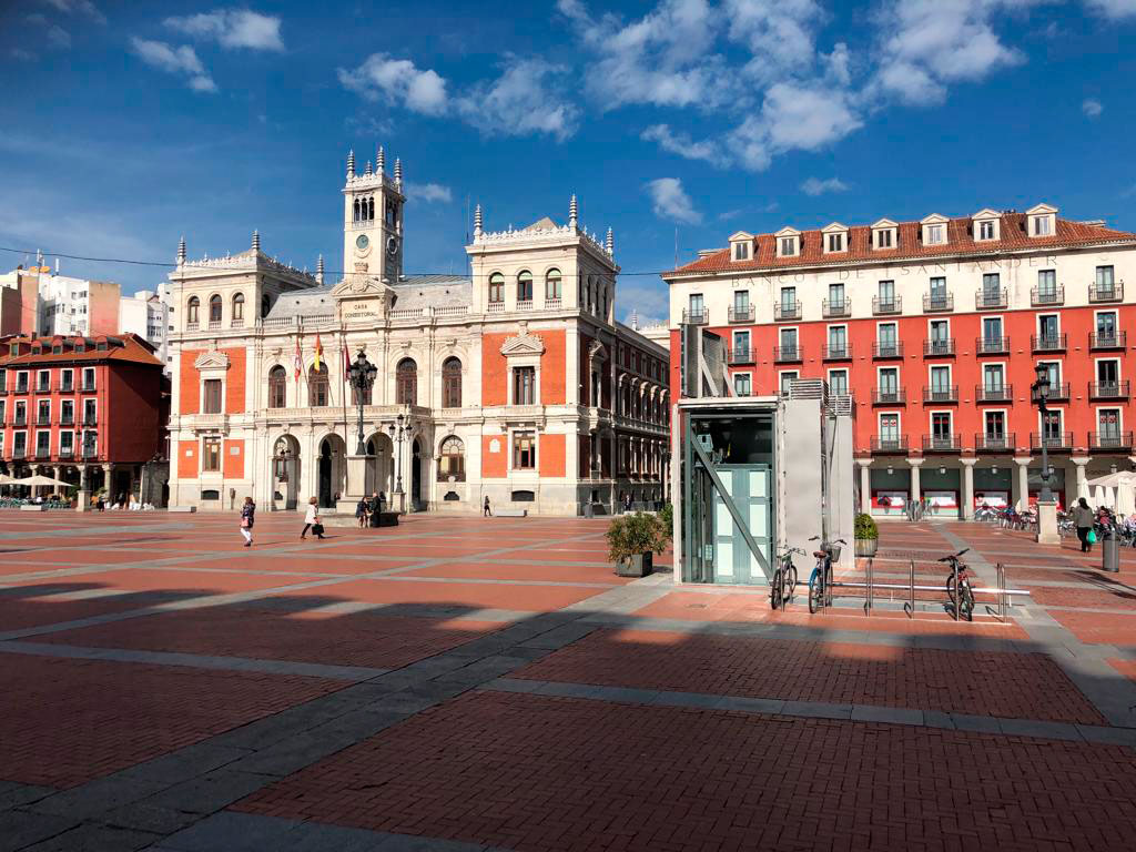 La Plaza Mayor de Valladolid