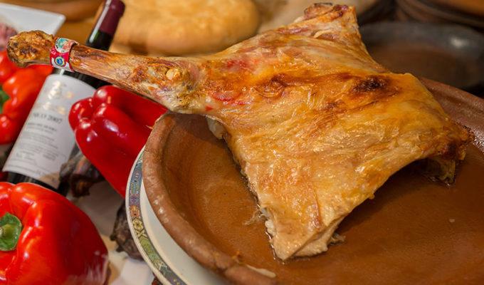 Carne de cordero lechal